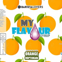 My Flavour Syrup Orange 1lt