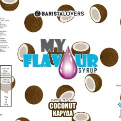 My Flavour Syrup Coconut 1lt