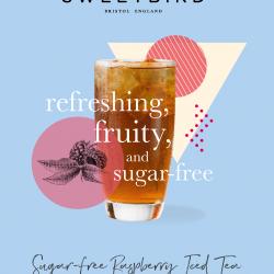 Sweetbird Ice Tea Raspberry Sugar Free