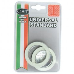 G.A.T. Replacement Gaskets and filter for 1 cup Espresso Machine
