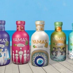 Yamas Green Ice Tea Blueberry & Honey