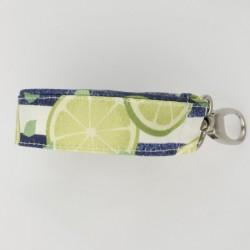 Leashes Print Lime 2pcs