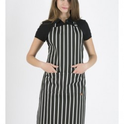 New Collections Striped Apron P400