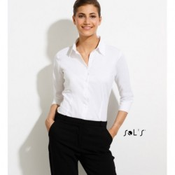 Sol's Effect Women's Elastic Shirt With Sleeve 3/4