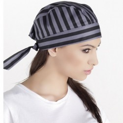 New Collections Chefs Unisex Striped Bandana