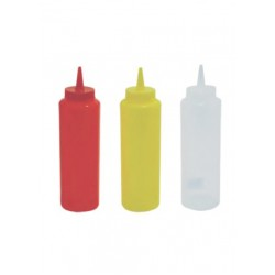 Squeeze Bottle For Ketchup - Mustard - Mayonnaize 24oz 708ml