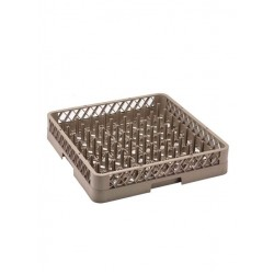 Basket For Professional Dishwasher For Dishes And Trays
