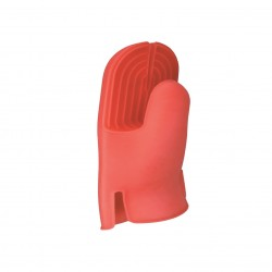 Red silicon oven glove 12pcs