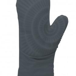 Gray kitchen silicone + cotton glove