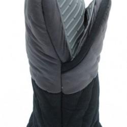 Gray kitchen cotton + silicone glove 12pcs