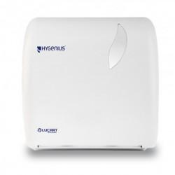 Lucart Hygenius Hands Autocut Paper Towel Dispenser White