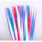 Colourful Plastic Straws 1000pcs