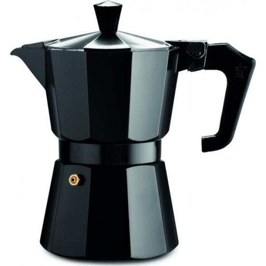 Pezzetti Italexpress Moka Espresso Coffeemaker 3 Cups Black
