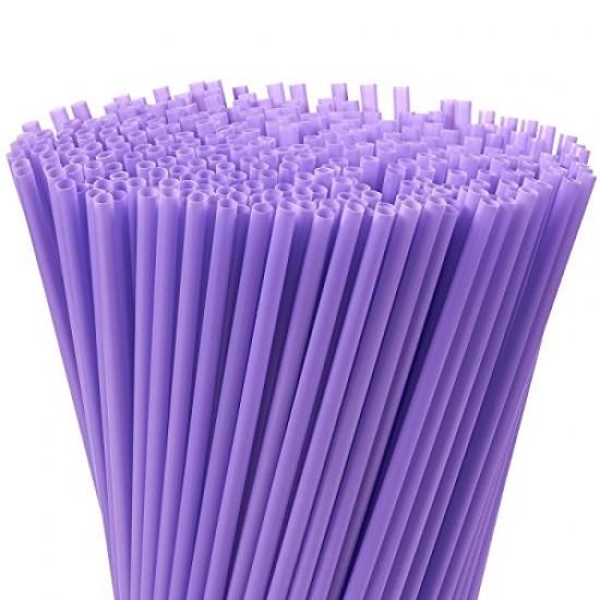 Purple Plastic Straws 1000pcs