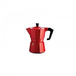 Pezzetti Italexpress Moka Espresso Coffeemaker 1 Cup Red