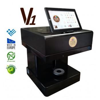 3D Επαγγελματικός Εκτυπωτής για ροφήματα και τρόφιμα V1 (μονής εκτύπωσης)
