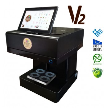 3D Επαγγελματικός Εκτυπωτής για ροφήματα και τρόφιμα V2 (τετραπλής εκτύπωσης)