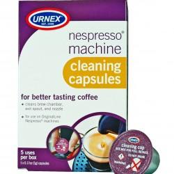 Urnex Nespresso Coffee Machine Cleaning Capsules