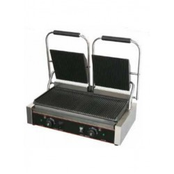 Professional Table Toaster Karamco double slot ribbed