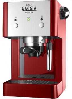 Gran Gaggia Deluxe Red Παραδοσιακή Μηχανή Καφέ Espresso Οικίας - Γραφείου