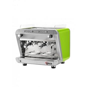 Μηχανή Καφε Espresso WEGA IO evd/2  αυτόματη δοσομετρική μηχανή καφέ espresso - τέσσερις προγραμματιζόμενες δόσεις ανά γκρουπ και πλήκτρο χειροκίνητης λειτουργίας