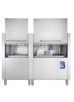Πλυντήριο πιάτων - δίσκων με ταινία μεταφοράς και διπλό κάδο 34200W , ιταλικής κατασκευής Belogia B - CT 200