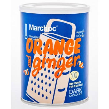 1+1 Δώρο ΣΗΛ Marchoc Σοκολάτα Σκούρα Πορτοκάλι - Τζίντζερ