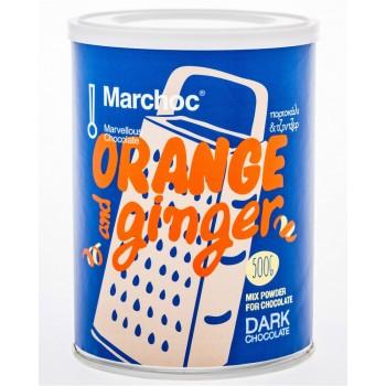 Marchoc Bitter Chocolate Orange - Ginger