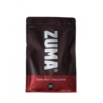 Zuma Dark Hot Chocolate 33% Cocoa 1kg Bag