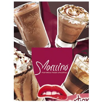 Marccino Coffee Κρύο Ροφήματος με άρωμα καφέ και σοκολάτας + Δώρο Marccino Τριμμένο Μπισκότο