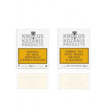 Krocus Kozanis Herbal Tea with Honey, Orange & Saffron