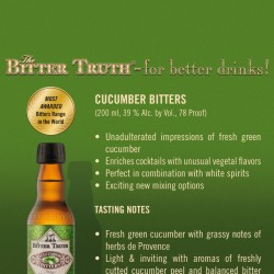 Bitter Truth Cucumber Bitters