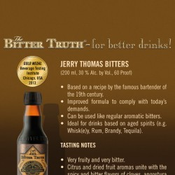 Bitter Truth Jerry Thomas' Own Decanter Bitters
