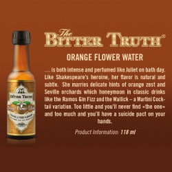 Bitter Truth Orange Flower Water