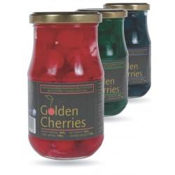 Golden Cherries Red Coctail Cherries