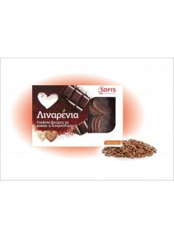 Λιναρένια- Cookies Βρώμης με Κακάο και Λιναρόσπορο