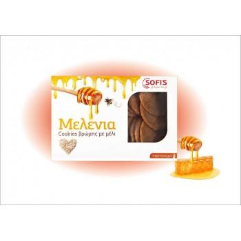Μελένια - Cookies Βρώμης με μέλι 380g