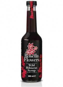 Rosella Flowers Wild Hibiscus Syrup