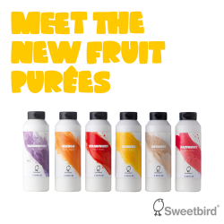 Sweetbird Fruit Purees Strawberry 1lt