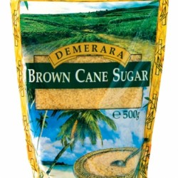 Demerara Brown Cane Sugar 500gr