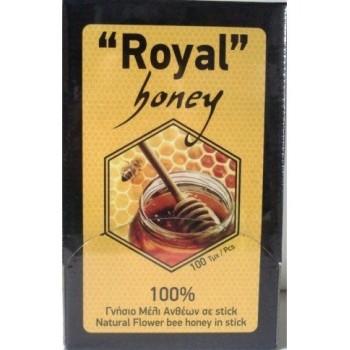 Μέλι Royal Μερίδες 100Sticks