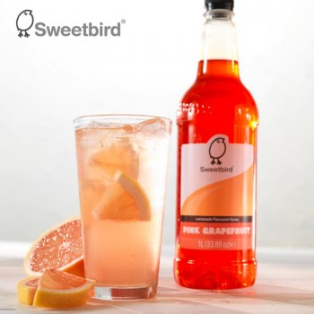 Λεμονάδα Sweetbird Pink Grapefruit Lemonade Syrup