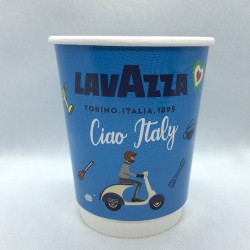 Paper Cup Lavazza Ciao Italy  8oz 20 pcs.