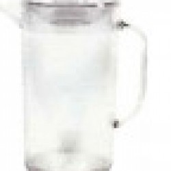 Transparent jug Ps with lid 2lt