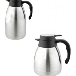 Vacuum Jug Stainless Steel with plastic handle