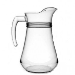Glass water jug 1 Lt