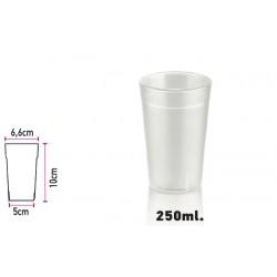 Glass of Polycarbonate Sandblast 250ml