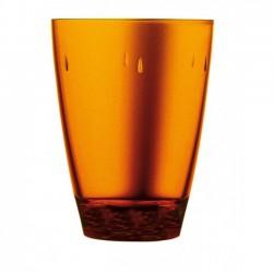 "Glass Polycarbonate  ""Orange"" Transparent"