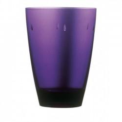 """Glass Polycarbonate  """"Purple"""" Transparent"""