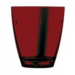 "Glass Polycarbonate  ""Red"" Transparent"